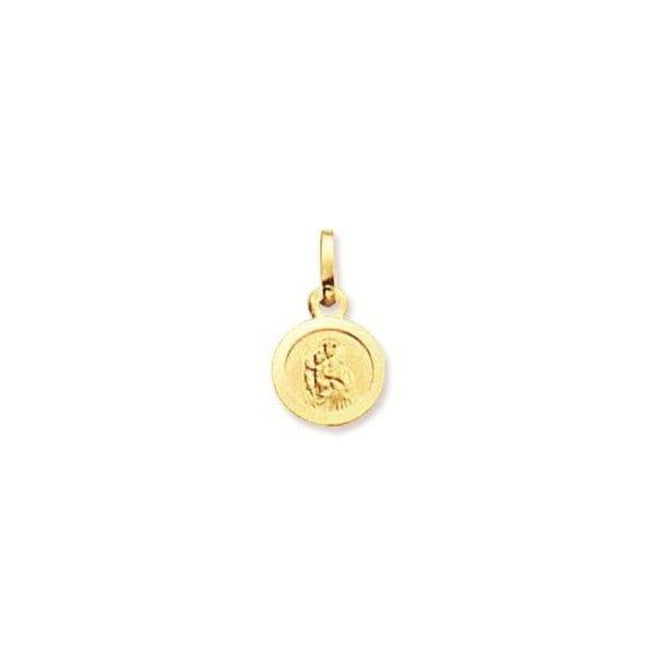 Gouden medaille - 12 mm - rond
