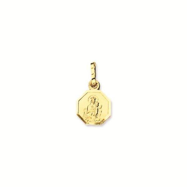Gouden medaille - 8.0 mm - achtkant
