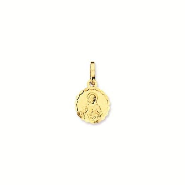 Gouden medaille - 10 mm - rond