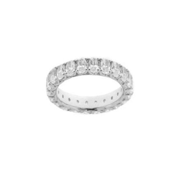 Zilveren alliance ring diamonfire