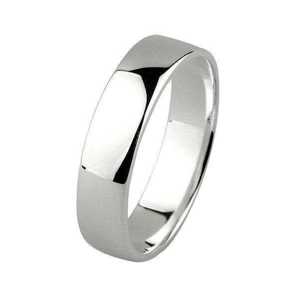 Zilveren vriendschapsring - 5 mm - glanzend
