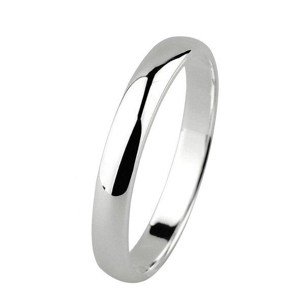 Zilveren vriendschapsring - 3 mm - glanzend