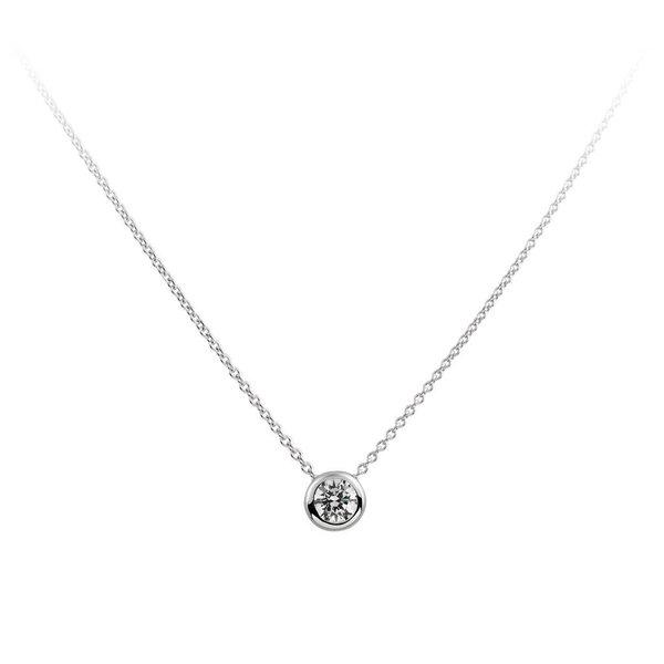 Zilveren collier diamonfire - 1.00 ct - 6.25 mm