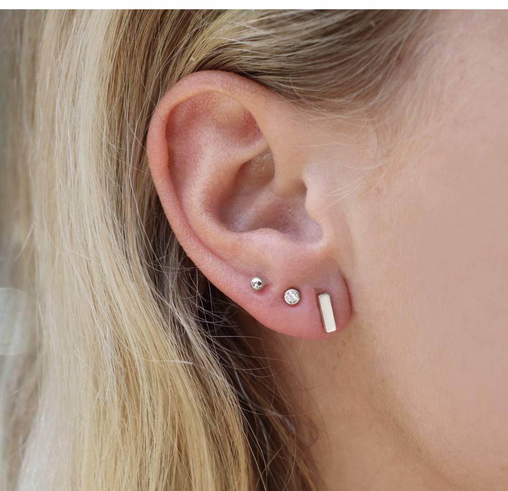Dé trend van nu, het multi pierced oor