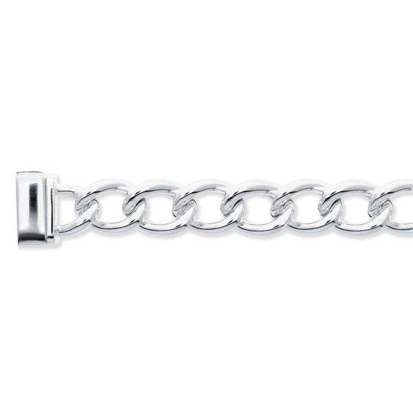 Zilveren schakelarmband best basics