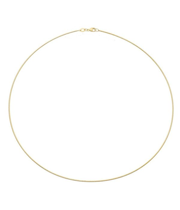 Best basics Doublé omegacollier - 45 mm - 1.0 mm - rond -
