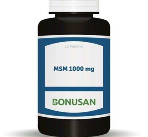 Bonusan Bonusan MSM 1000 mg 120 tabletten