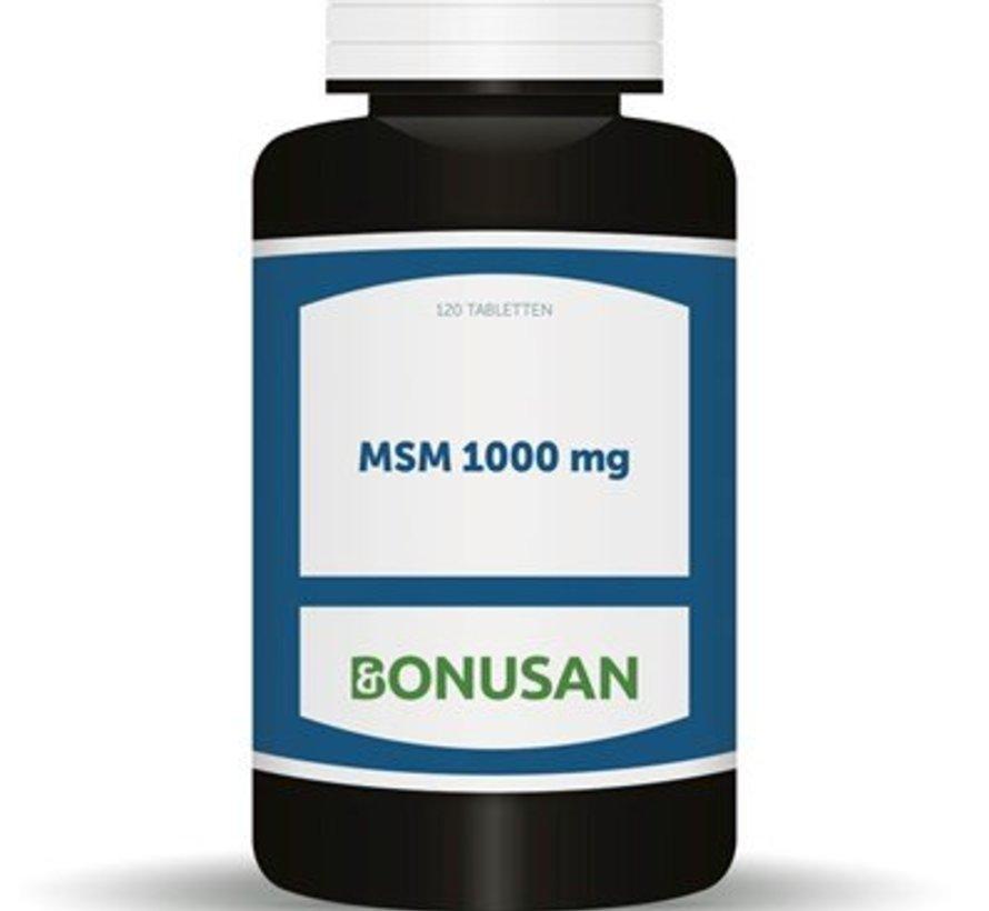 Bonusan MSM 1000 mg 120 tabletten