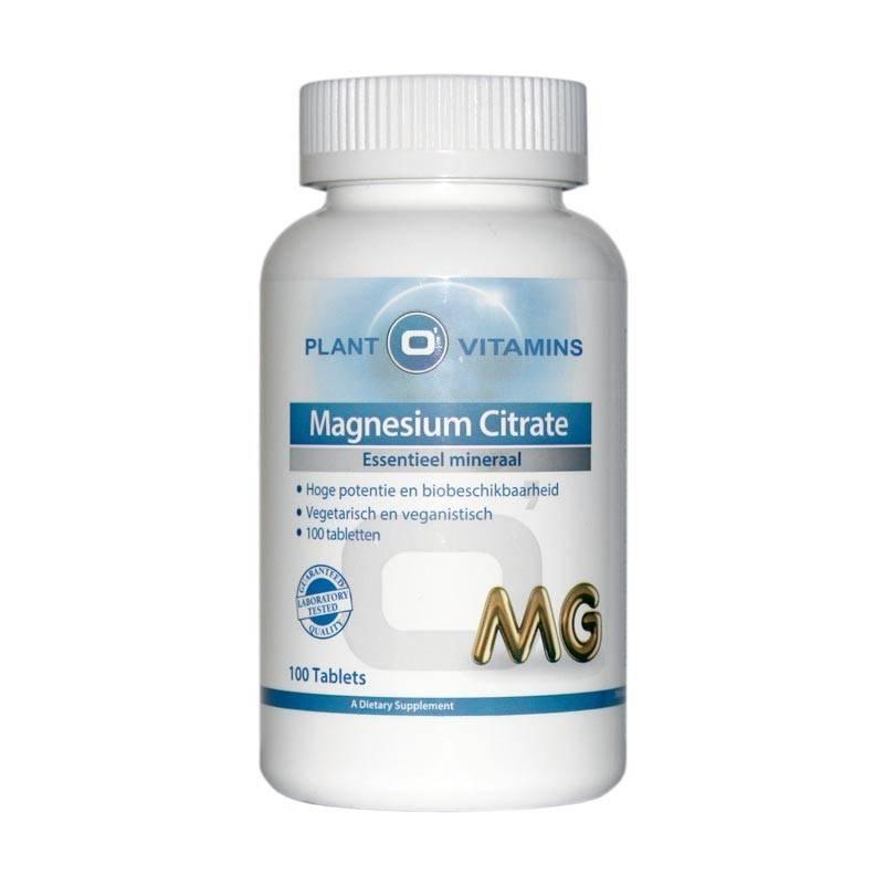 Plant O'Vitamins MAGNESIUM CITRATE Plantovitamins