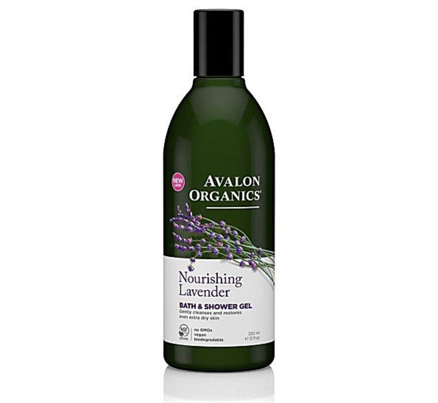 Avalon Nourishing Lavender bath & showergel