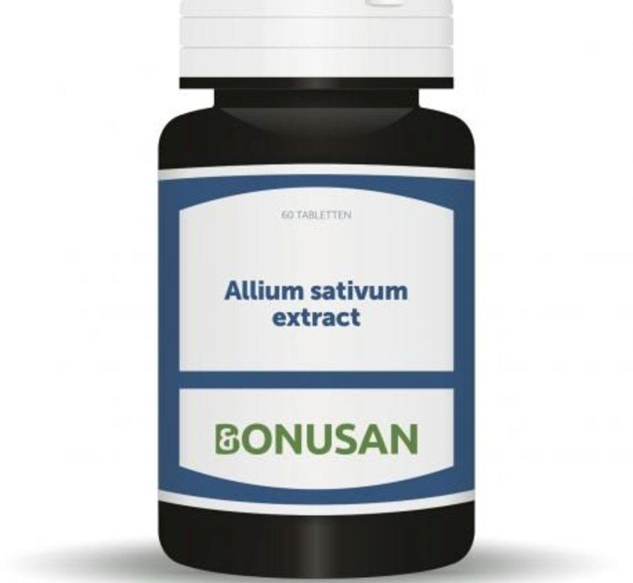 Bonusan Allium sativum 60 capsules