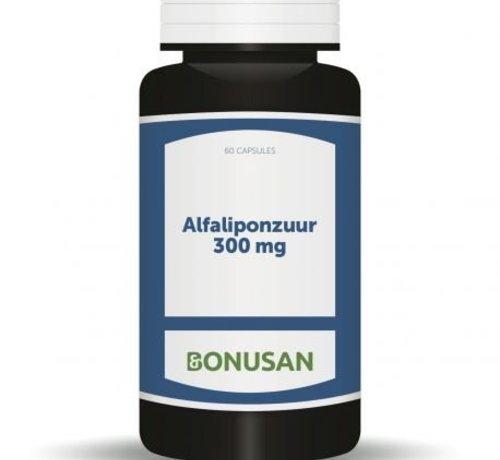 Bonusan Bonusan Alfaliponzuur 300 mg 60 capsules
