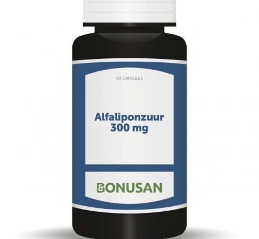 Bonusan Alfaliponzuur 300 mg 60 capsules