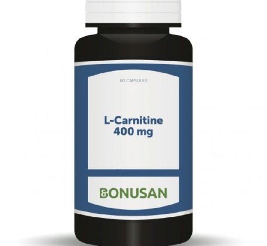 BONUSAN L-CARNITINE 400 MG 60 CAPSULES