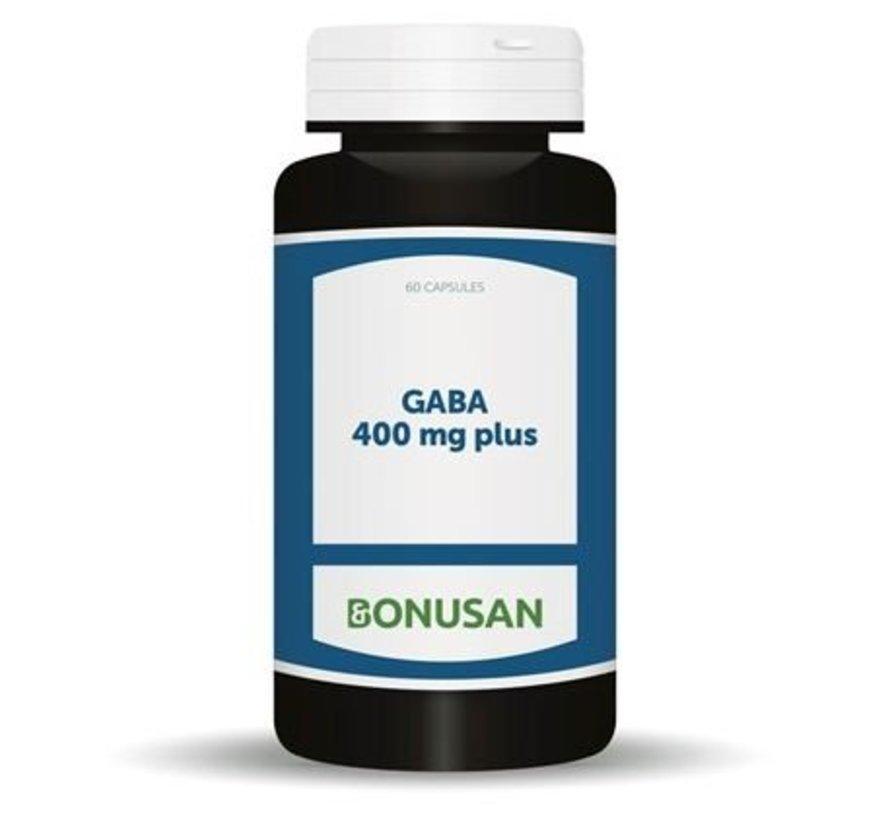 Bonusan Gaba 400 mg plus 60 capsules