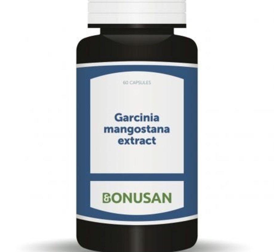 BONUSAN GARCINIA MANGOSTANA EXTRACT 60 CAPSULES