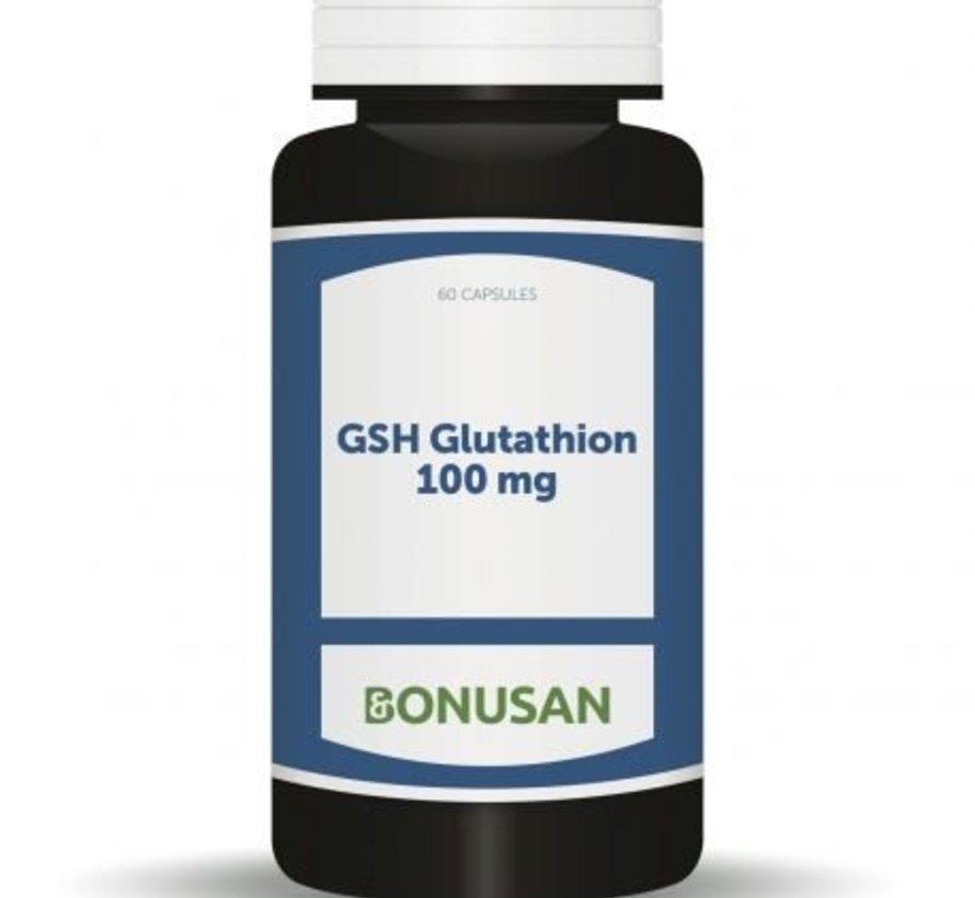 BONUSAN GSH GLUTATHION 100 MG 60 CAPSULES
