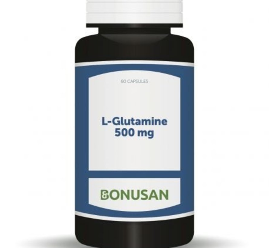 Bonusan L-Glutamine 500 mg 60 capsules