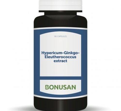 Bonusan Bonusan Hypericum-Ginkgo-Eleutherococcus extract 90 capsules