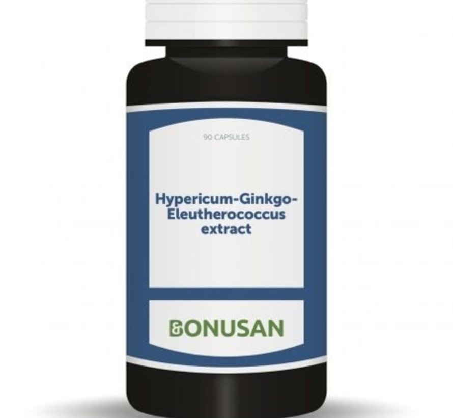 Bonusan Hypericum-Ginkgo-Eleutherococcus extract 90 capsules