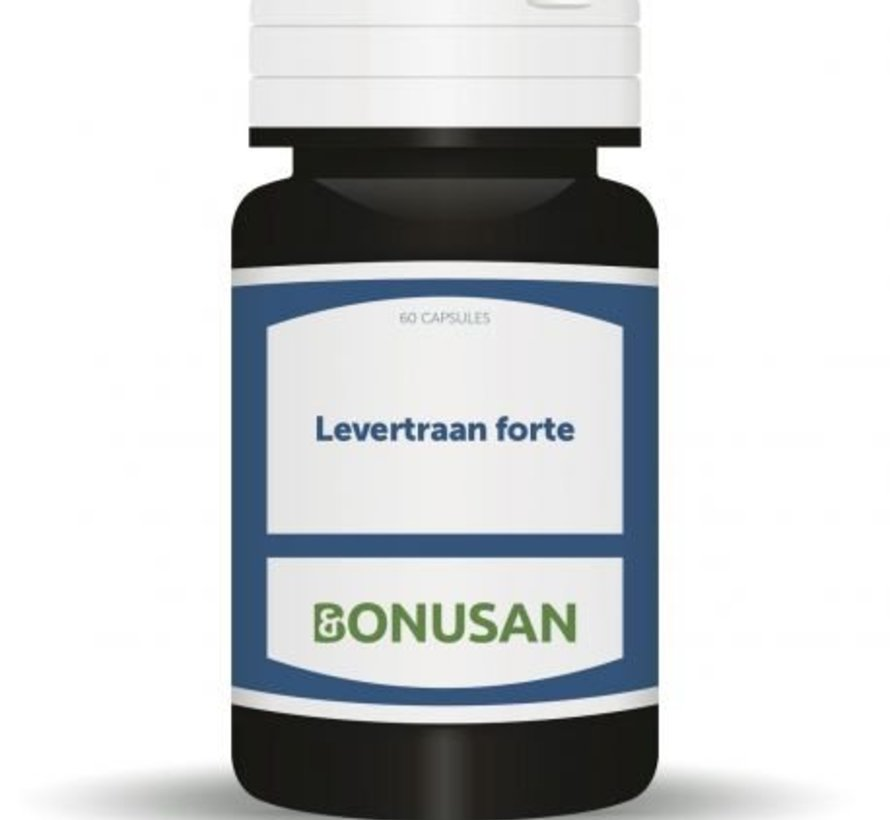 BONUSAN LEVERTRAAN FORTE 60 SOFTGELS