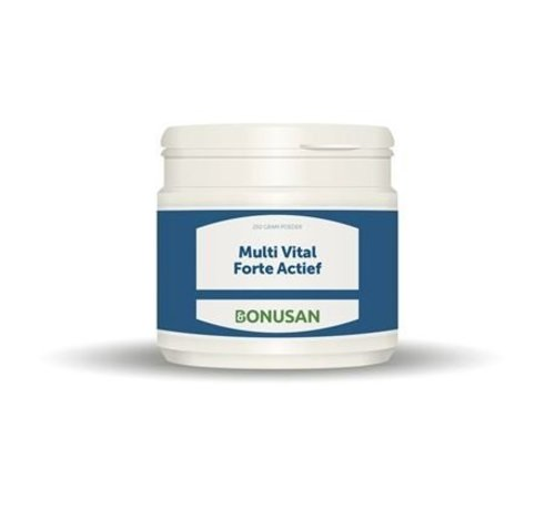 Bonusan Bonusan Multi Vital Forte Actief Poeder 250 gram