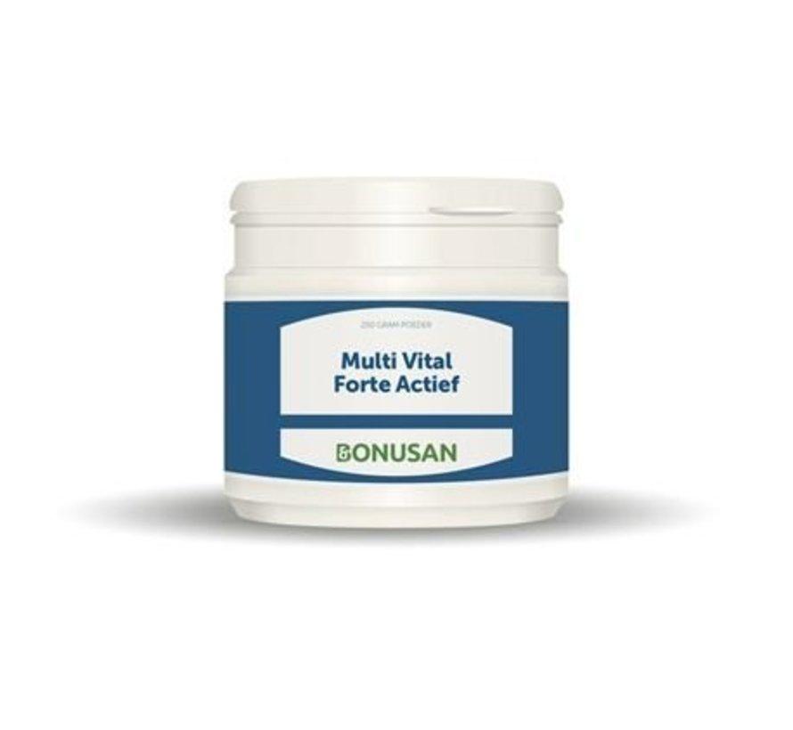 Bonusan Multi Vital Forte Actief Poeder 250 gram