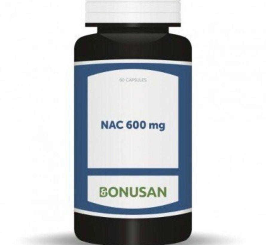 BONUSAN NAC 600 MG 60 CAPSULES