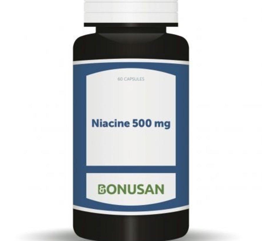 BONUSAN NIACINE 500 MG 60 CAPSULES