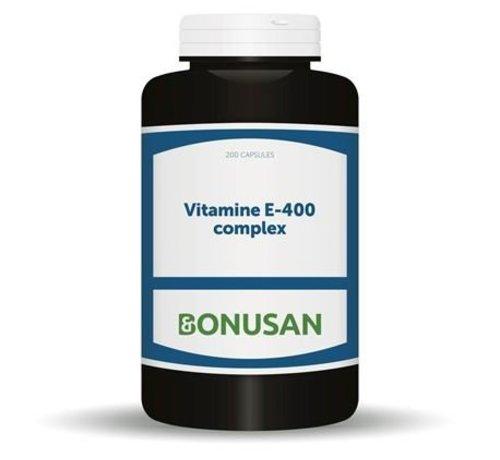 Bonusan Bonusan Vitamine E-400 complex 60 softgels