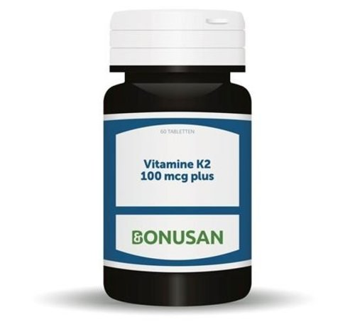 Bonusan BONUSAN VITAMINE K2 100 MCG PLUS 60 TABLETTEN