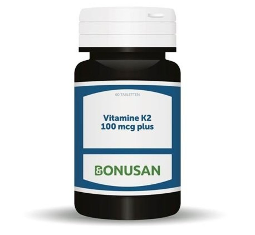 BONUSAN VITAMINE K2 100 MCG PLUS 60 TABLETTEN