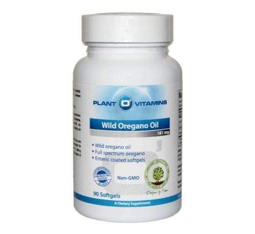 Plant O'Vitamins Wilde Oregano Olie 90 softgels Plantovitamins