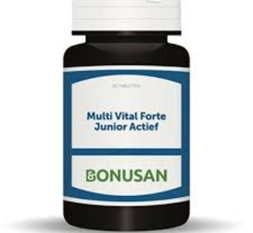 Bonusan Bonusan Multi Vital Forte Junior Actief 30/90 kauwtabletten