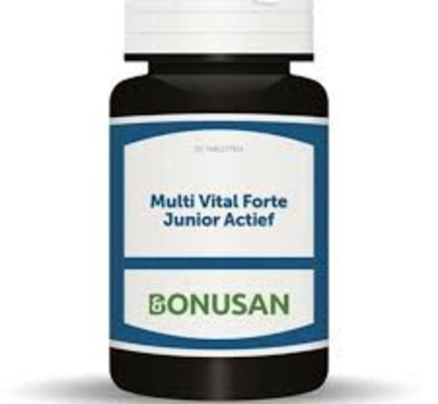 Bonusan Multi Vital Forte Junior Actief 30/90 kauwtabletten