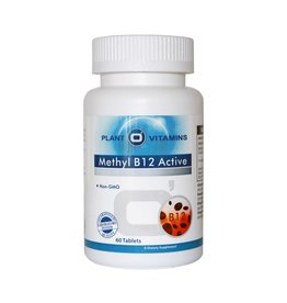 Plant O'Vitamins METHYL B12 ACTIVE