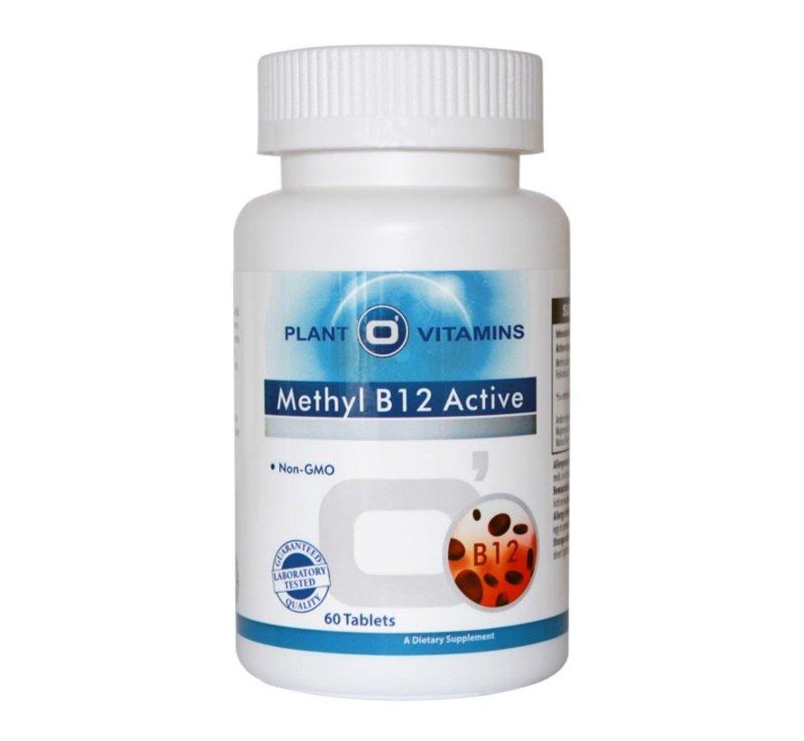 Methyl B12 Active 60 kauwtabletten Plantovitamins