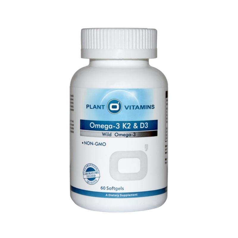 Plant O'Vitamins OMEGA-3 K2 & D3