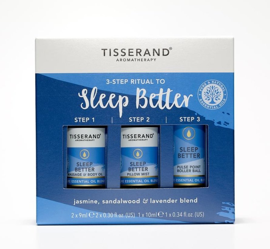 TISSERAND 3-STEP RITUAL TO SLEEP BETTER