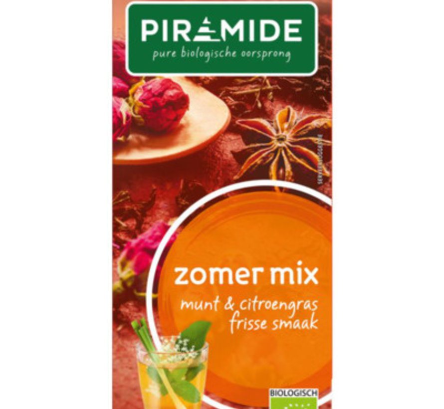 Piramide zomer mix thee