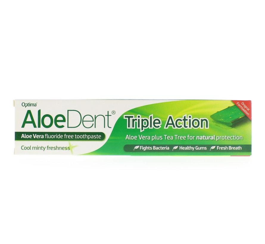Optima Aloe dent aloe vera tandpasta triple action