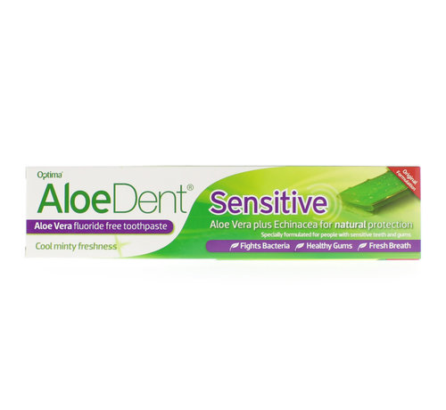Aloe Dent Optima Aloe dent aloe vera tandpasta sensitive