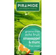 Piramide Piramide groene thee sinaasappel & munt