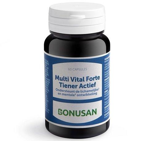 Bonusan Bonusan Multi Vital Forte Tiener Actief 60 capsules