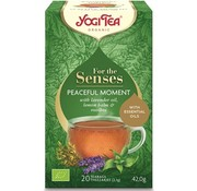 Yogi Tea YOGI TEA  FOR THE SENSES PEACEFUL MOMENT
