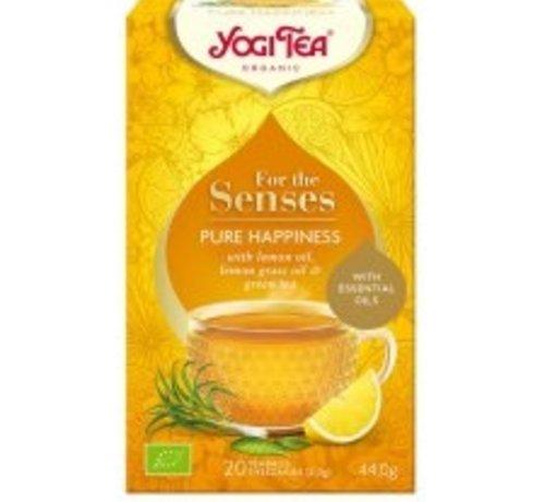 Yogi Tea Yogi Tea for the senses pure happiness