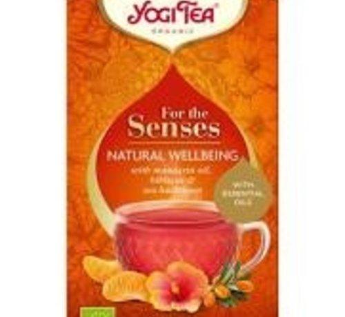 Yogi Tea Yogi Tea for the senses natural wellbeing