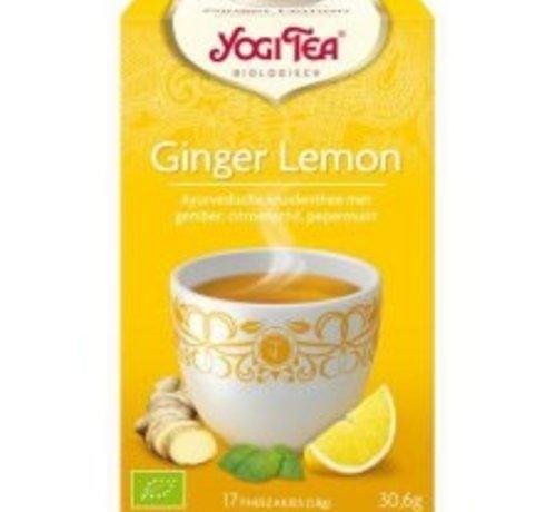 Yogi Tea Yogi Tea Ginger Lemon