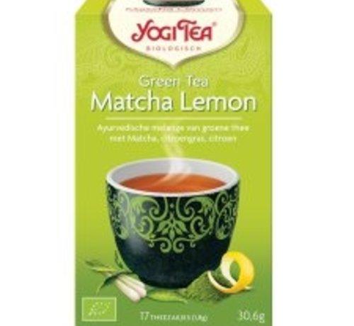 Yogi Tea Yogi Tea Matcha lemon