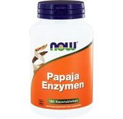 Now Papaja enzymen 120 kauwtabletten